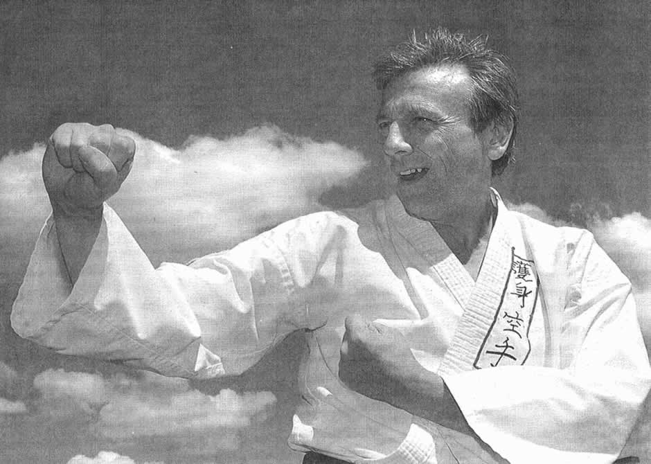 Robert Hardy, Black belt ju-jitsu