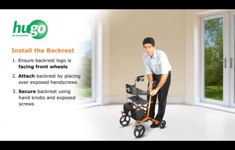 How to Assemble the Sidekick™ Rollator