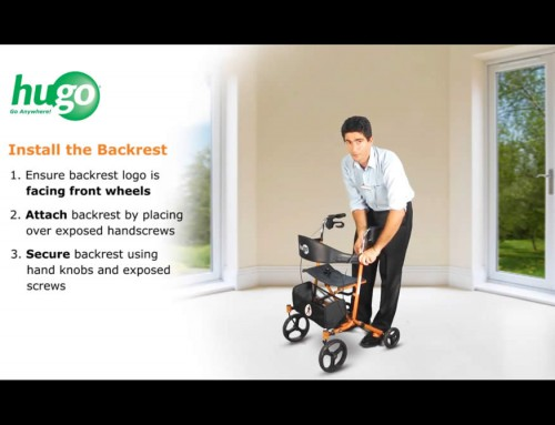 How to Assemble your Sidekick™ Rollator in 4 Easy Steps