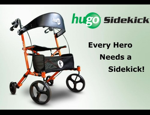 Presenting the Hugo® Sidekick™ Rollator Walker