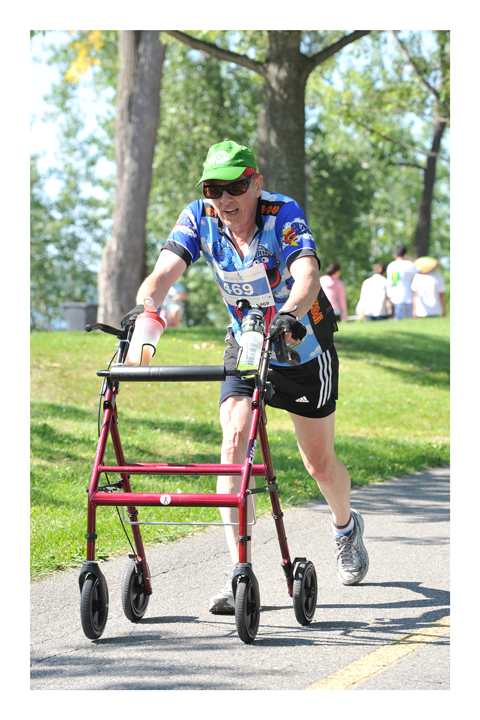 Official photo of Robert Hardy Lachine Half Marathon