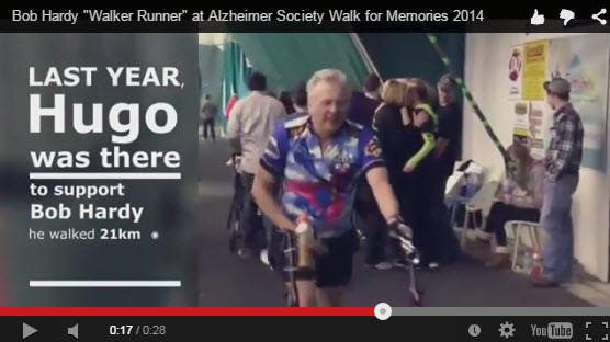 Bob Hardy Memories from 2014 Walk for Memories
