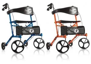 Ambulateurs Sidekick™ de Hugo®, couleurs bleuet et tangerine